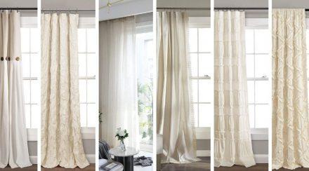 Linen Farmhouse Curtains