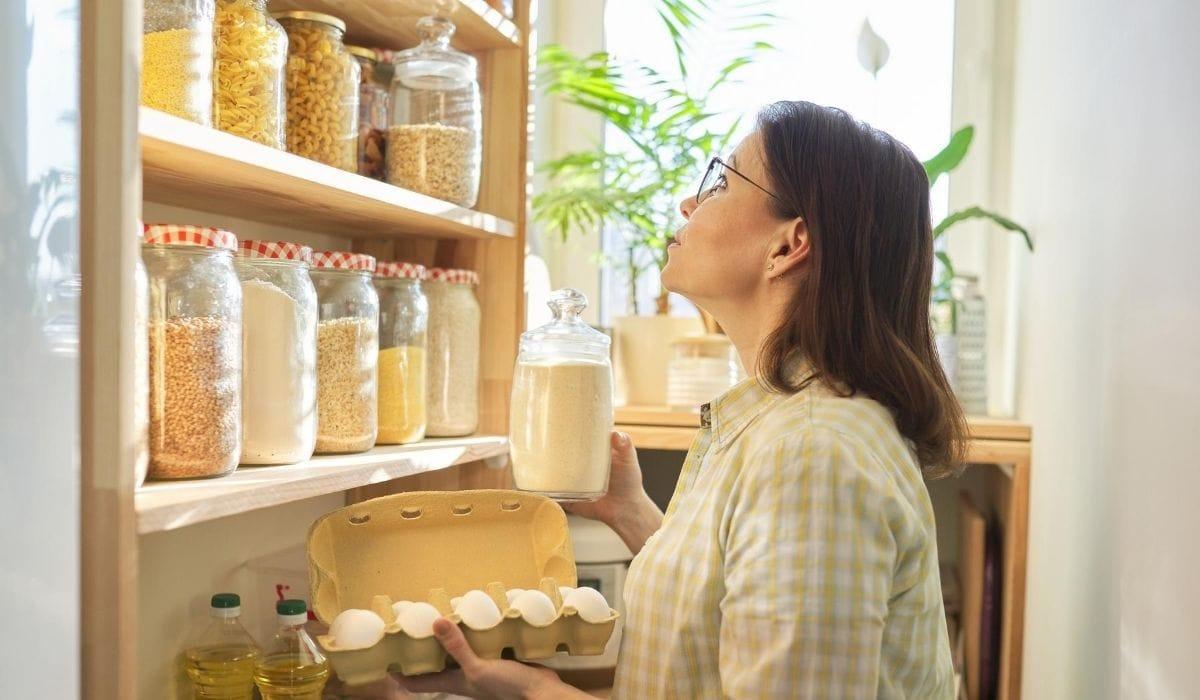 categorizing the pantry