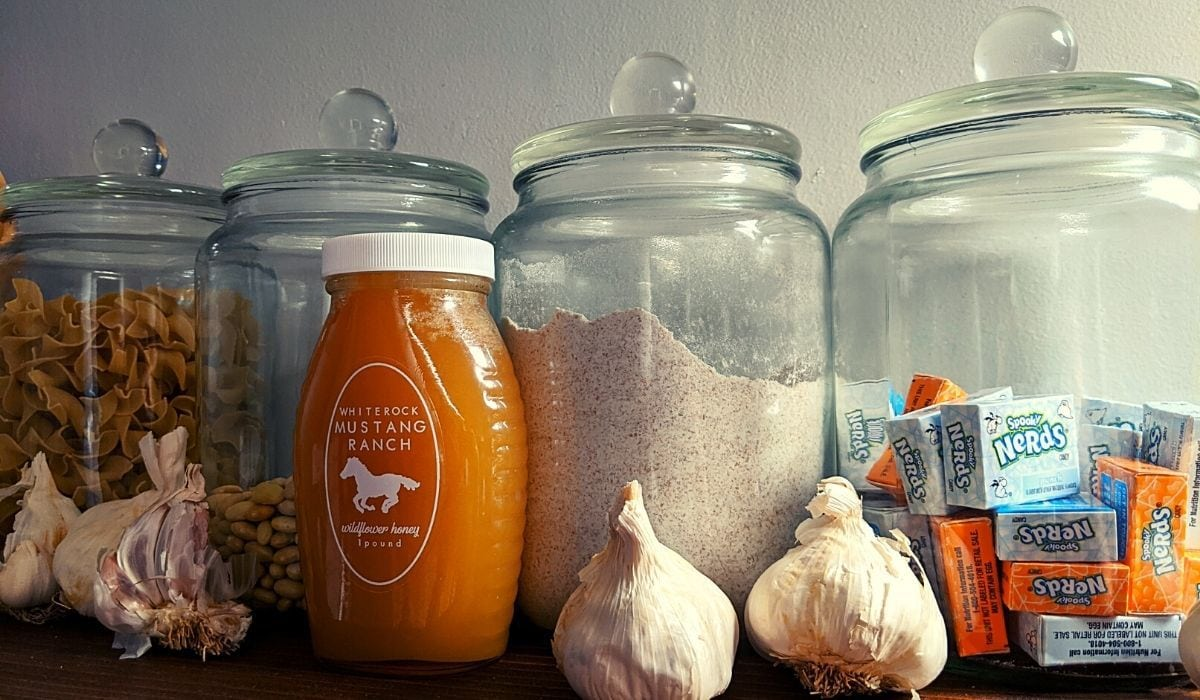 containers for pantry organization