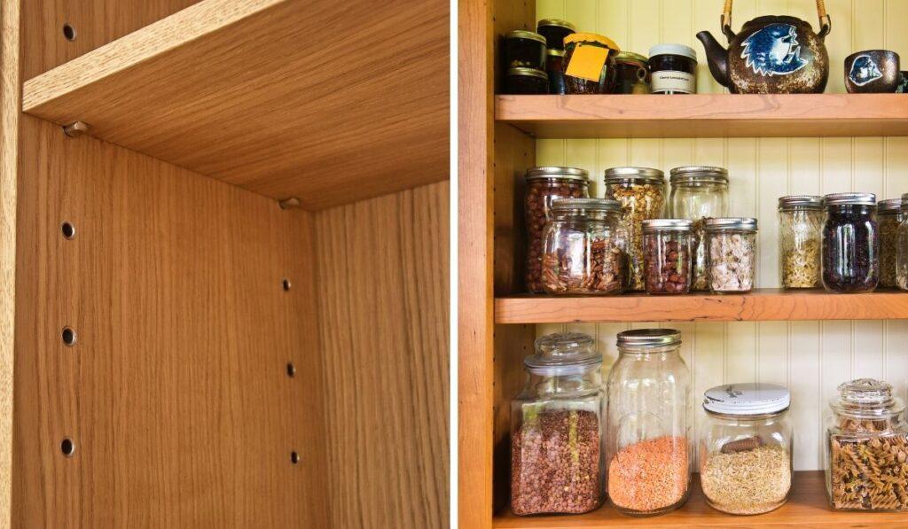Adjustable Pantry Shelves