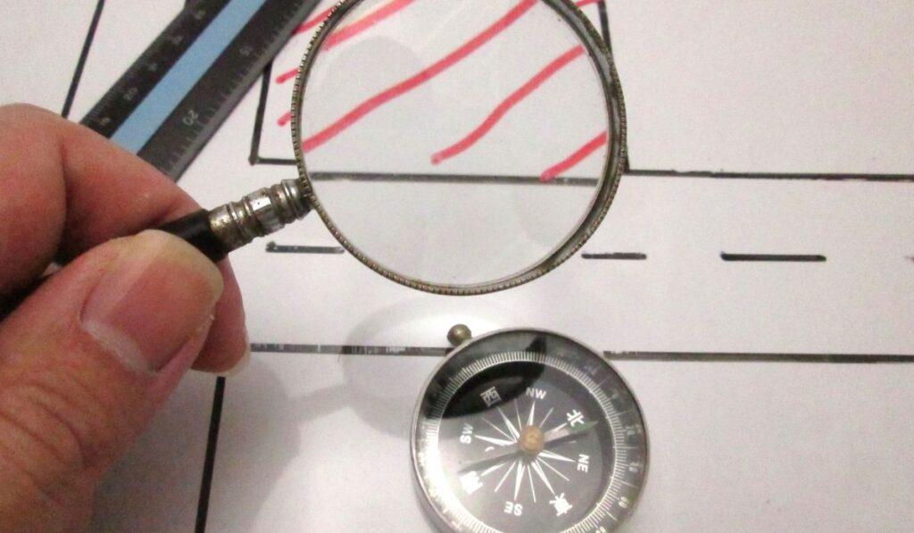 Evaluating property thru maps