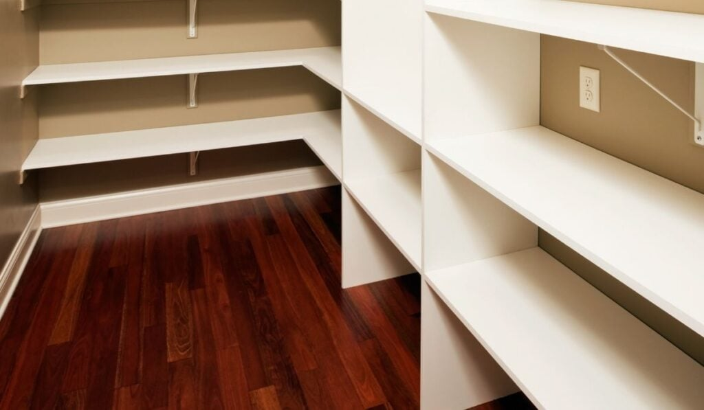 Floor Clearance Requirement For Pantry Shelves