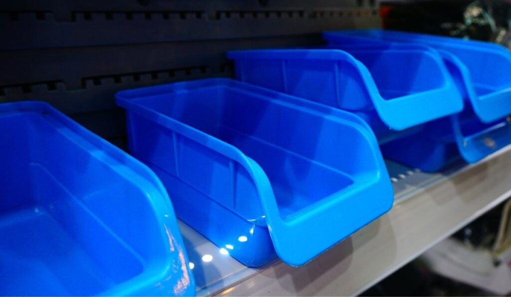 Sliding Storage Bins