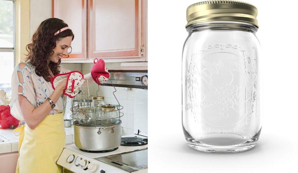 Sterilizing a Mason Jar