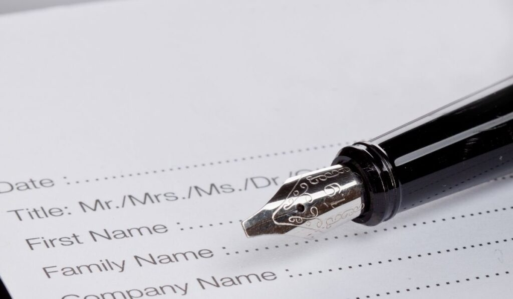 Title And Registration Requirements