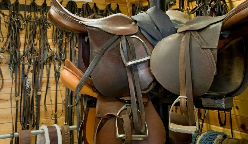 tack room for horse