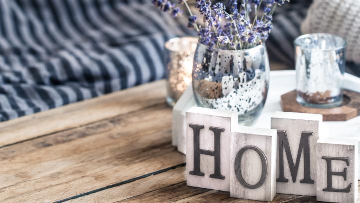 A home decoration table centerpiece